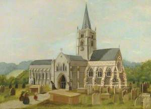 St Martin's Intermediate Church Exterior, Dorking, Surrey