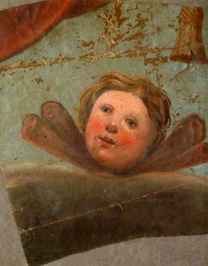 Portion of Fresco from East Wall of Old St James' Church