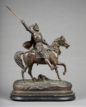 Vercingetorix Triumphant at the Battle of Gergovia