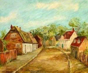 Baker Street, Weybridge in 1880s