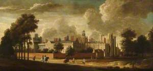Nonsuch Palace from the North East