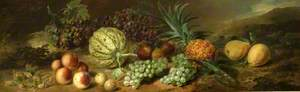 Still Life with Pineapple and Other Fruit
