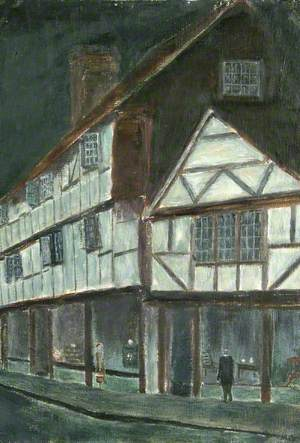 Old Godalming by Moonlight