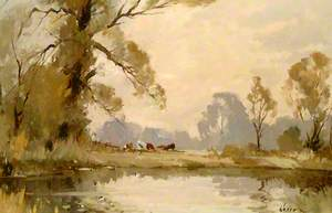 River Meadow Landscape