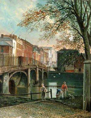 View of Guildford Town Bridge