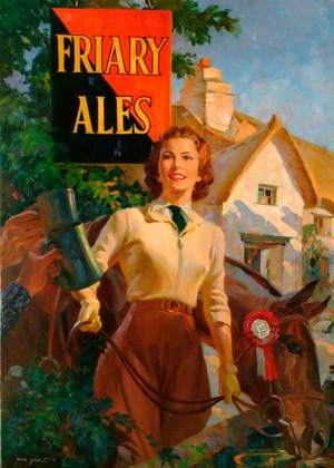 Artwork for Friary Ales Poster