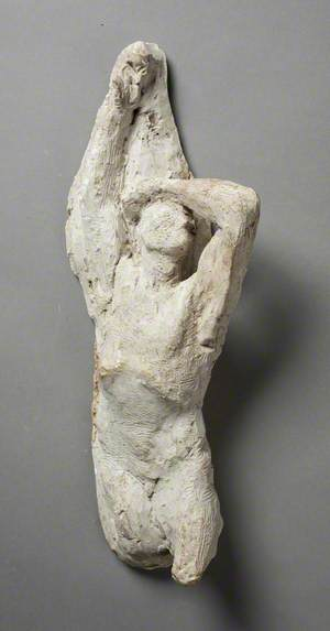 Study of the Male Nude for 'Denunciation of Cain'