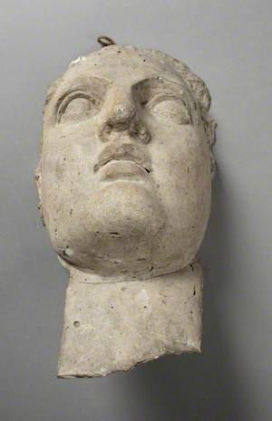 Study of the Head of Mary Bartlett