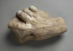 Study of a Hand for 'Time, Death and Judgement'