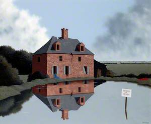 Une ferme abandonnée en Mayenne
