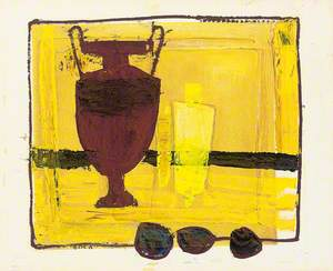 Abstract with Urn