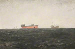 Dark Solent with Tankers