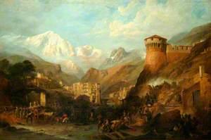 The Battle of Roveredo, 1796