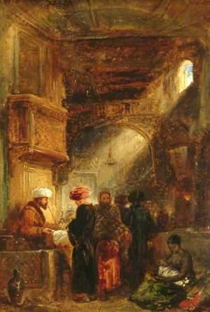 Opium Stall