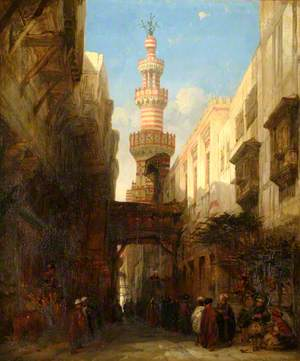 A Street in Cairo, Egypt
