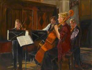 Brodsky Quartet Performing at the Guildford International Music Festival