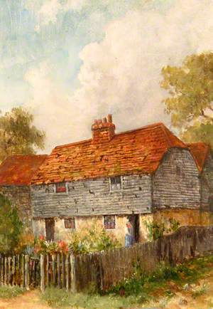 Cottage between 'The Leather Bottle' and Mill House