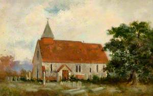 All Saints' Church, South Side, before Enlargement