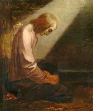 A Kneeling Figure (A Man of Sorrows)