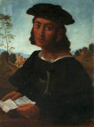 Young Man Reading