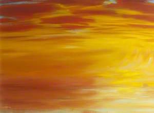 Sunset and Bass Rock
