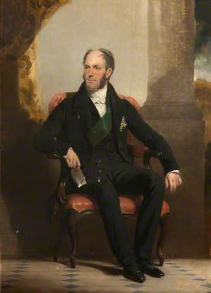 Field-Marshall George Hay (1787–1876), 8th Marquess of Tweeddale, KT, GCB, Lord-Lieutenant of Haddingtonshire (1823–1876)