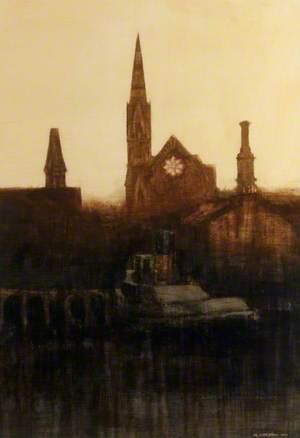 The Three Steeples, Irvine