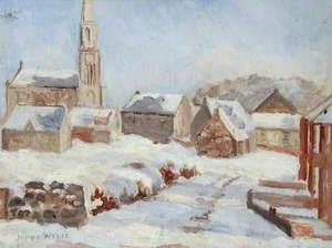 Stevenston Cross in the Snow