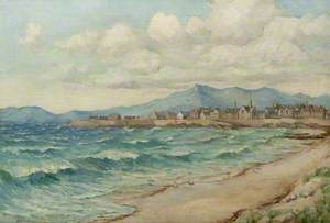 Ardrossan from South Beach