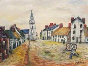 Quay Street, Saltcoats, 1870s