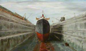 'Lairds Isle' in Dry Dock