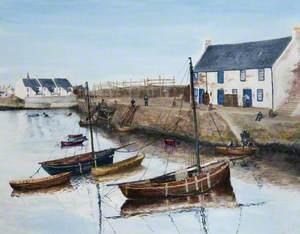 Saltcoats Harbour, 1908