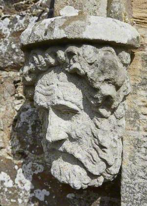 Head of Unknown Figure, Possibly a Former Gardener