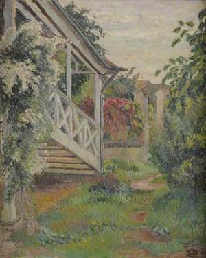 Staircase, Garden at Eragny