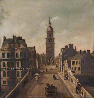 (Ayr) New Bridge & Town House, 1790