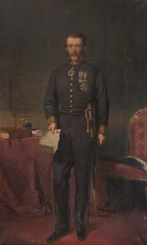 Right Honourable Sir James Fergusson (1832–1907), 6th Bt of Kilkerran, GCSI, KCMG, CIE