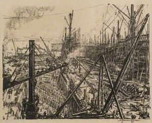 Reconstructing a Clyde Shipyard