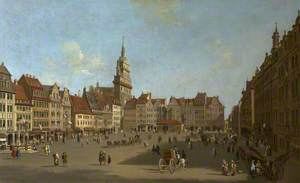 The Altmark, Dresden, from Schlossstrasse