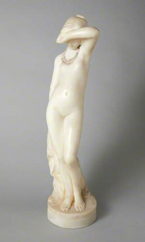 Female Figure with a Shell Necklace