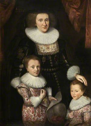 Jean, Countess of Perth, with Her Two Sons
