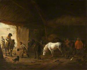 The Stable with the Grey Horse