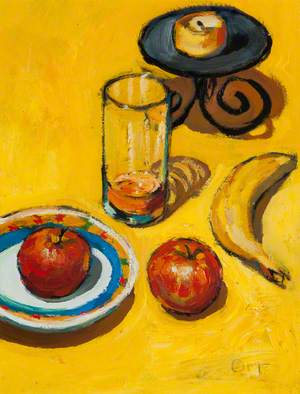 Yellow Still Life