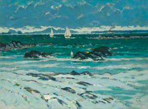 Bathers and Yachts, Iona