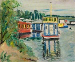 Houseboats on Loch Lomond