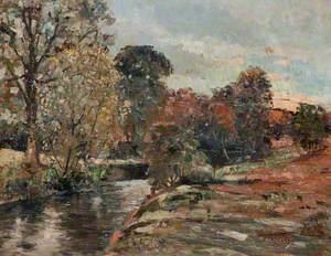 River Allander at Allander Park