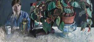 Cup, Estrild, Coffee, Mirror and Plant