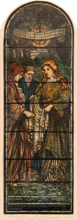 Design for Window in Carnwath Church