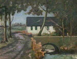 Cloberfield at Entrance to Clober House, Milngavie