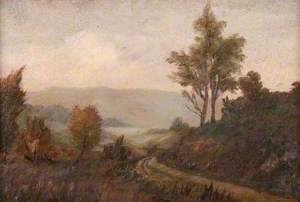 Landscape and Loch Craigallion