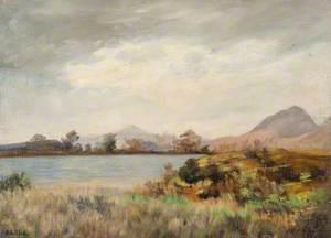Loch between Strathblane and Milngavie with Dumgoyne